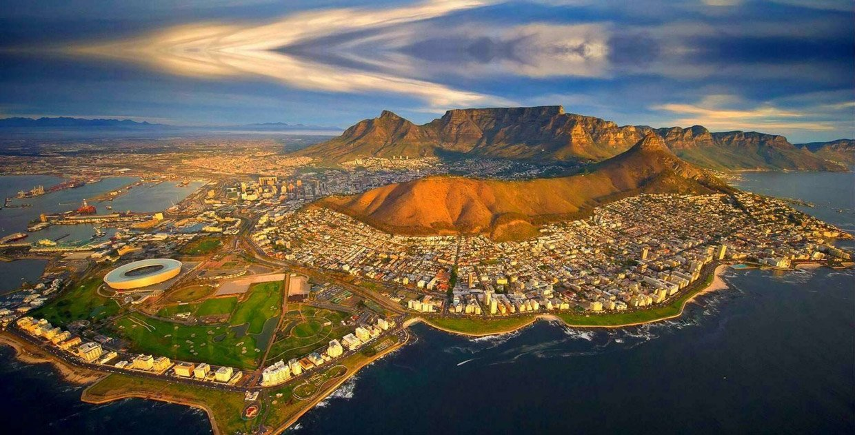 Cape Town by air