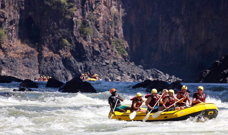 Victoria Falls Zambesi River