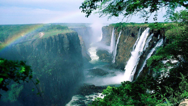 Le cascate Vittoria patrimonio UNESCO
