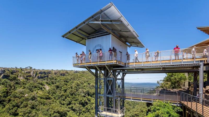 Gorge lift a Graskop, Sudafrica