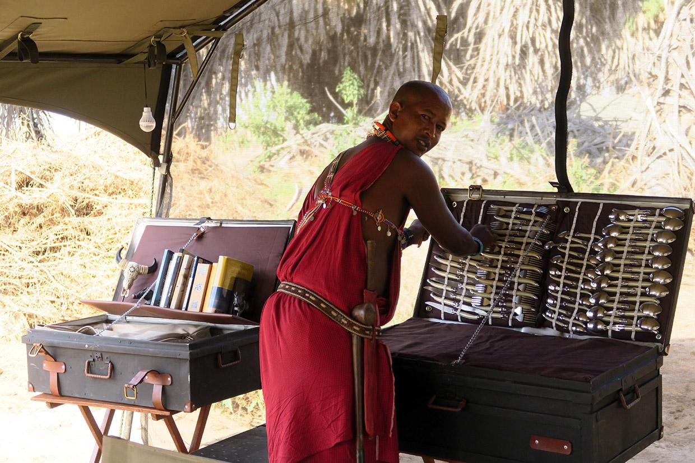 Kenya Campo Mobile di lusso