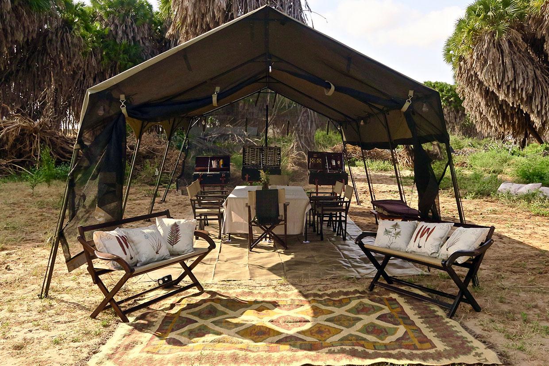Kenya lounge in Tsavo