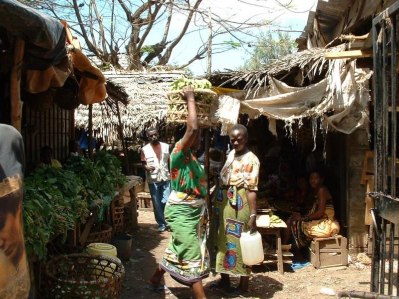 Mercato di Malindi
